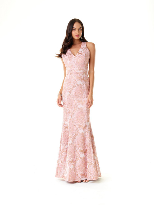 Open Strap Back Dress