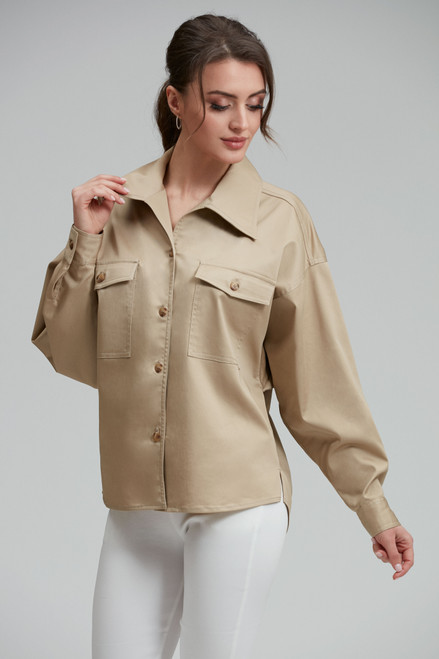 Beige Safari Shirt