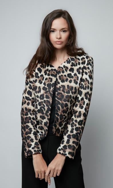 Leopard Quilting Jacket