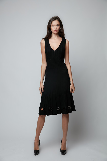 Summer Dress with Ring Embellishment