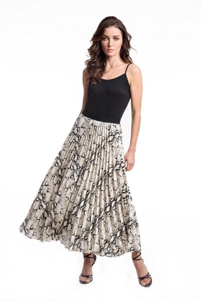 Accordian Pleated Skirt