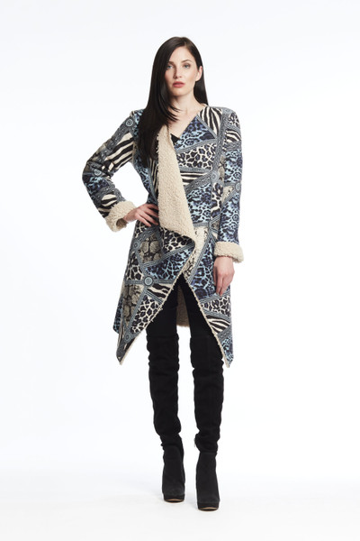 Flush Back Leopard Cardigan