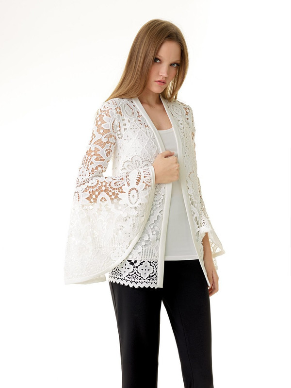 White  Cardigan Only