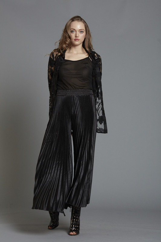 Crystal Pleated Pant (SKU1880)