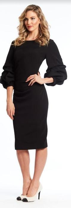 Body Crepe Dress