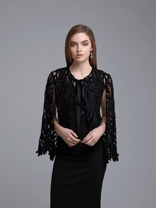 Velvet Lace Short Jacket