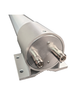 M39T MIMO Omni Directional Fiberglass Cellular 3G 4G 5G LTE Band 71 External Data M2M IoT Antenna - 2x NF - Connector Ends