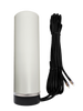 M19M Omni Directional MIMO 2 x Cellular 4G LTE GPRS 5G NR IoT M2M Magnetic Mount Antenna w/2 x 16ft Coax Cables - FME Female
