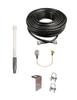 M1000 Omni Directional Fiberglass Cellular 4G LTE CBRS 5G NR M2M IoT Antenna w/Coax Cable Kit Options