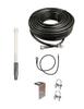 M1000 Omni Directional Fiberglass Cellular 4G LTE CBRS 5G NR M2M IoT Antenna w/Coax Cable Kit Options for Verizon Novatel Jetpack MiFi 7730L