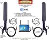 Dual MIMO AT&T Unite NETGEAR 781S Hotspot BLADE Antennas w/Laptop Clip