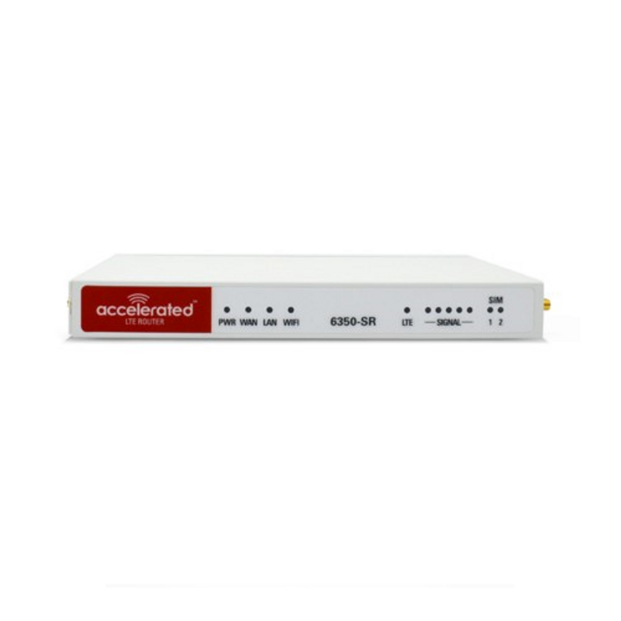 Accelerated 6350-SR LTE Router CAT 6 w/ 9dBi MIMO Antenna, 2 x 50 FT Cables + 2 x Adapters - SMA Male