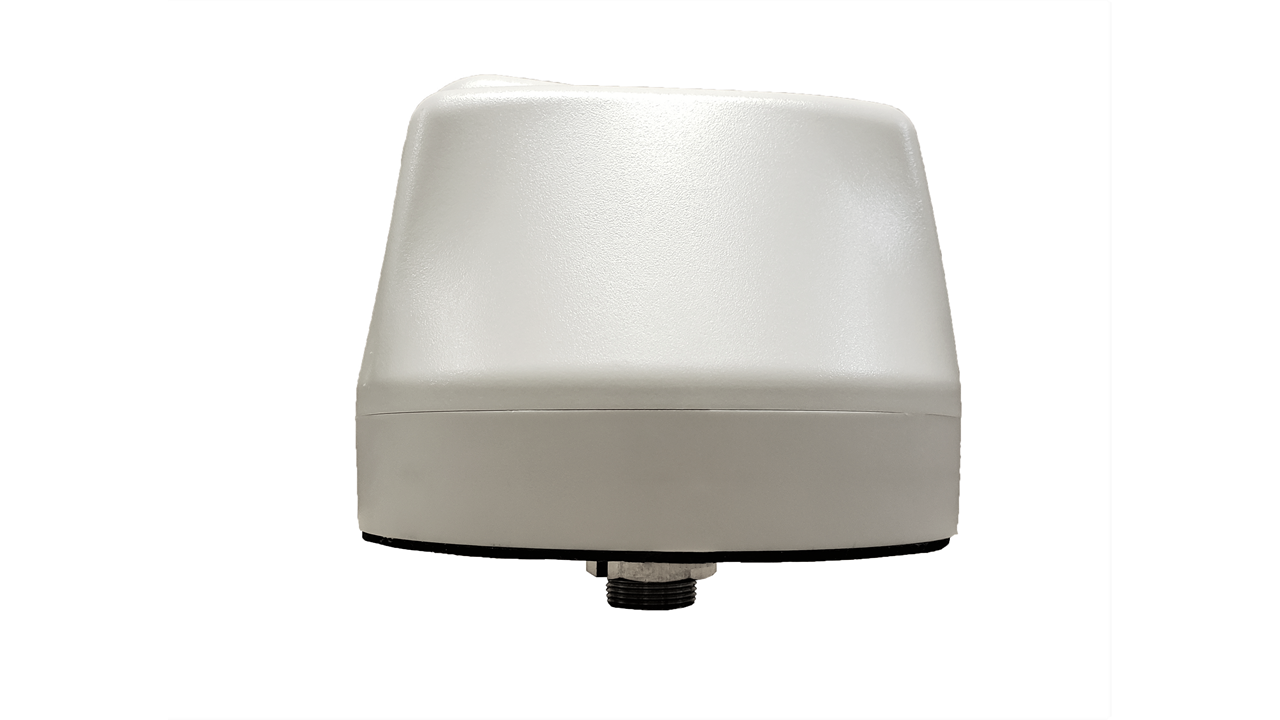 M650 5-Lead Antenna (White) - Side View