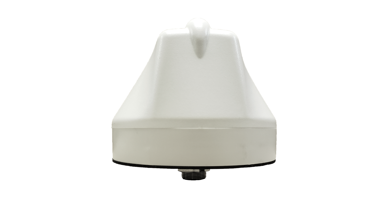 M690 9-Lead Antenna (White) - Back View