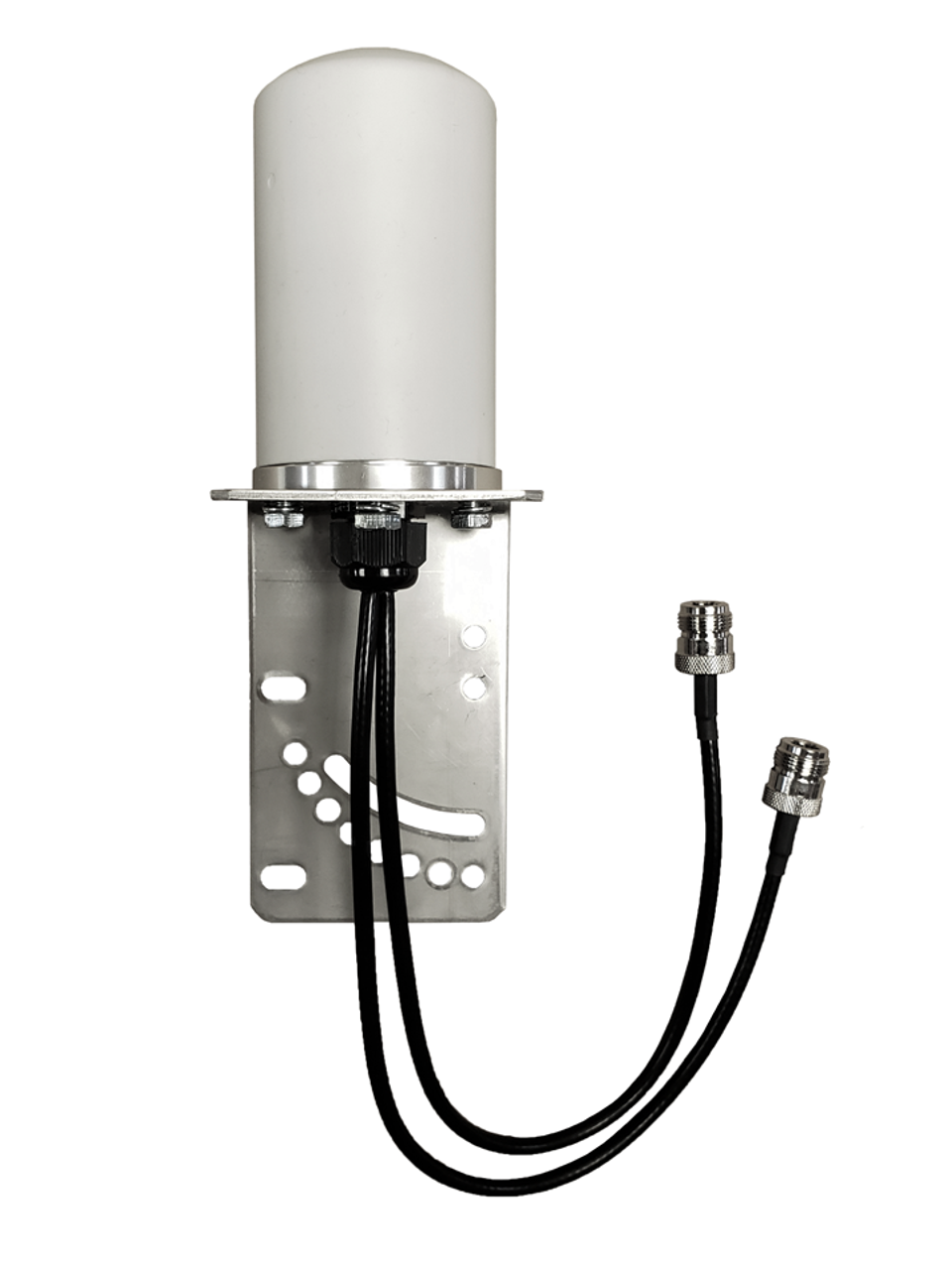 7dBi M17 Omni Directional MIMO Cellular 4G 5G LTE AWS XLTE M2M IoT Antenna w/1FT N-Female Coax Cables. w/ Cable Length Options