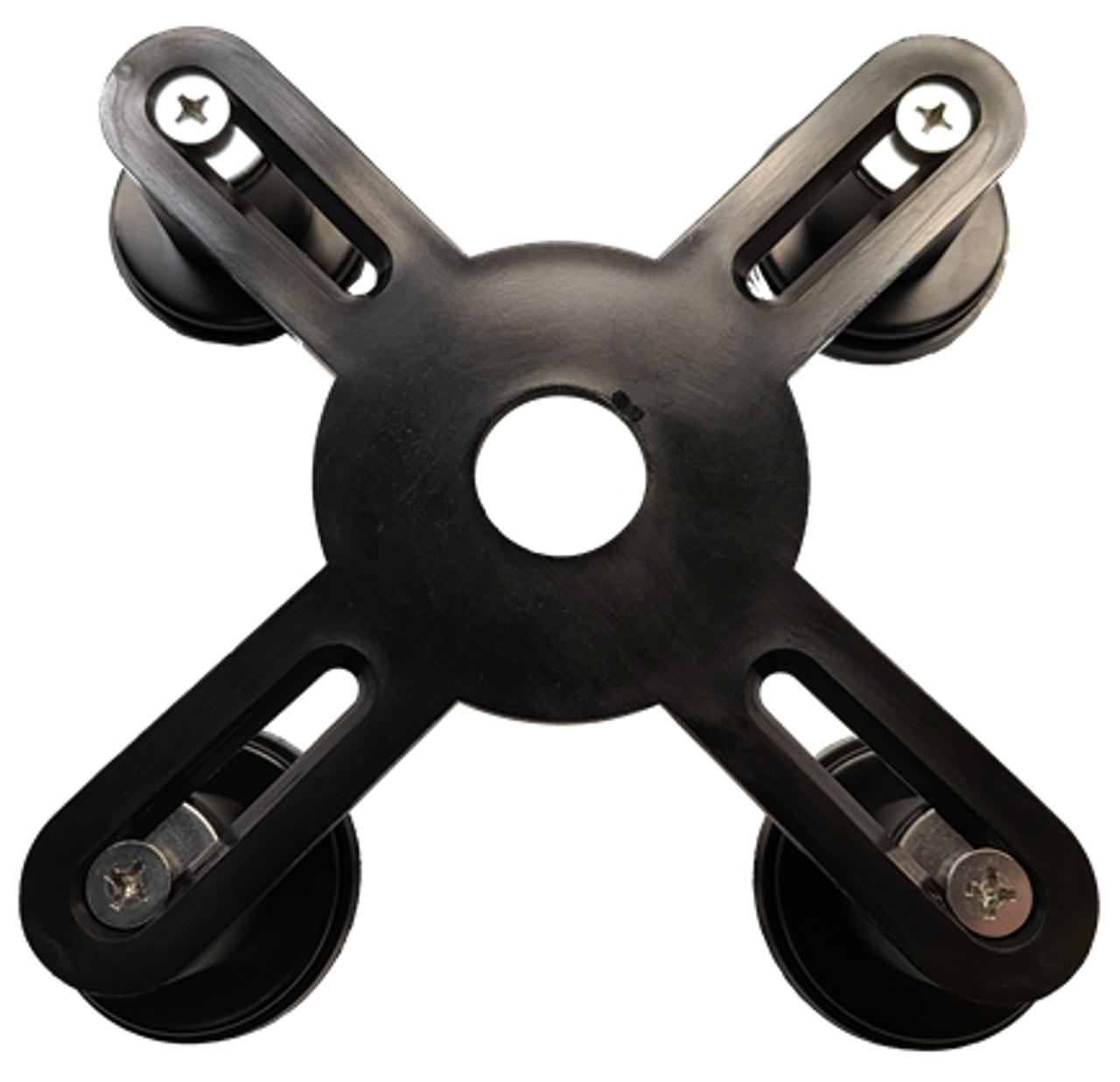 Rugged Adjustable M-Lander - Top View