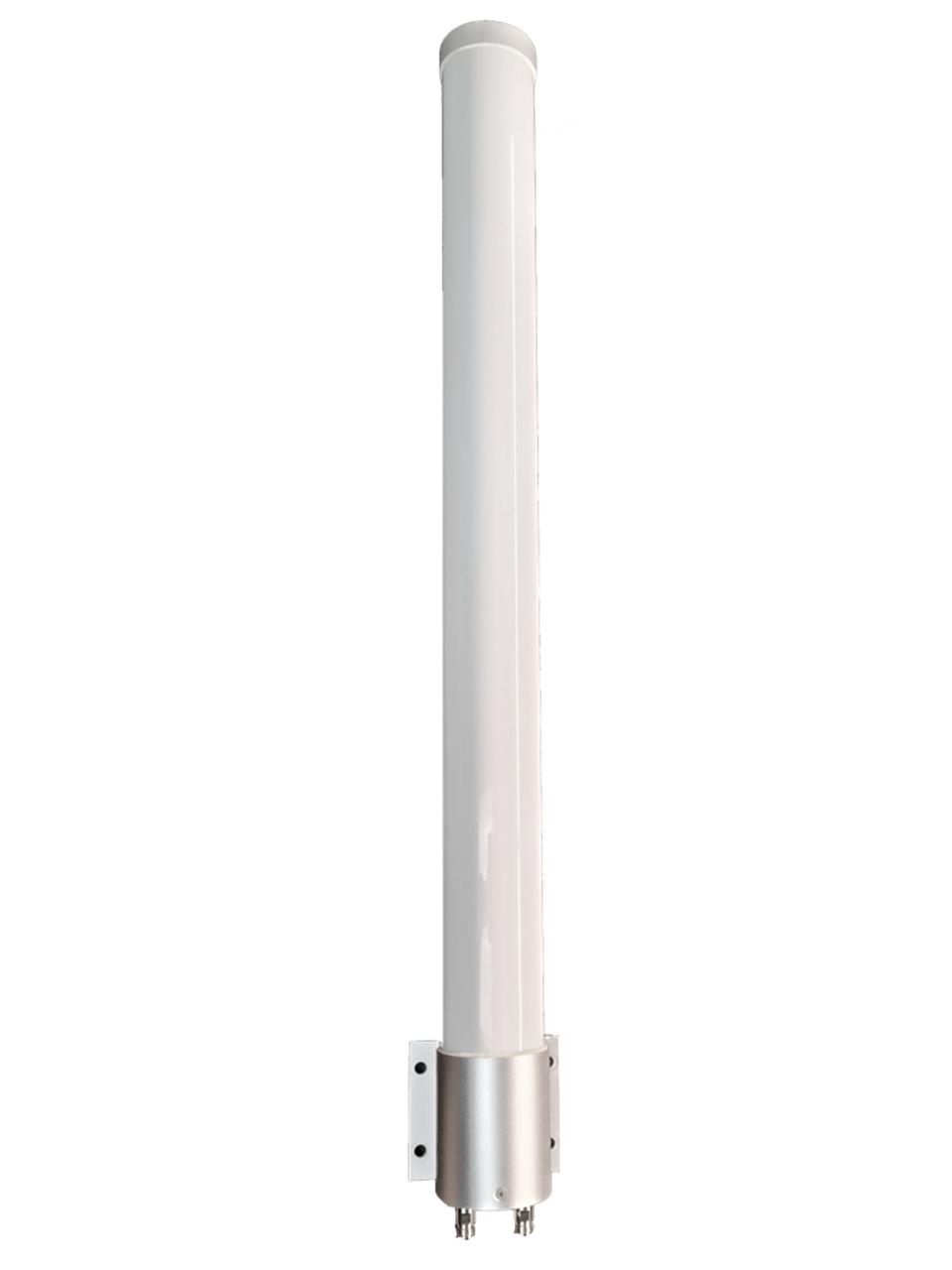 M39 Omni Directional MIMO 2 x Cellular 4G 5G LTE Antenna for NETGEAR NIGHTHAWK AX4 w/Bracket Mount - 2 x N Female w/Cable Length Options.