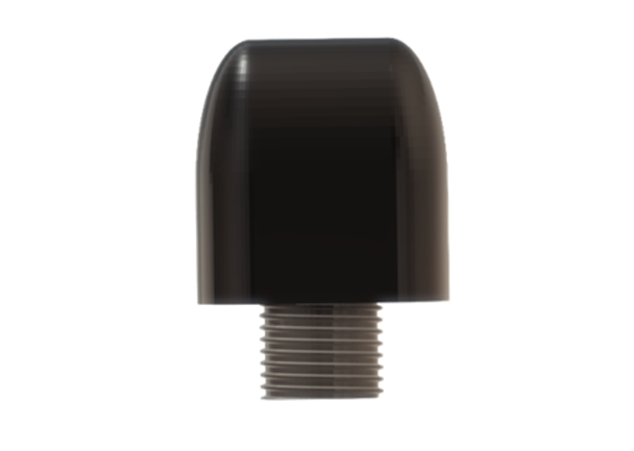 M990 9-Lead Antenna (Black) - End View