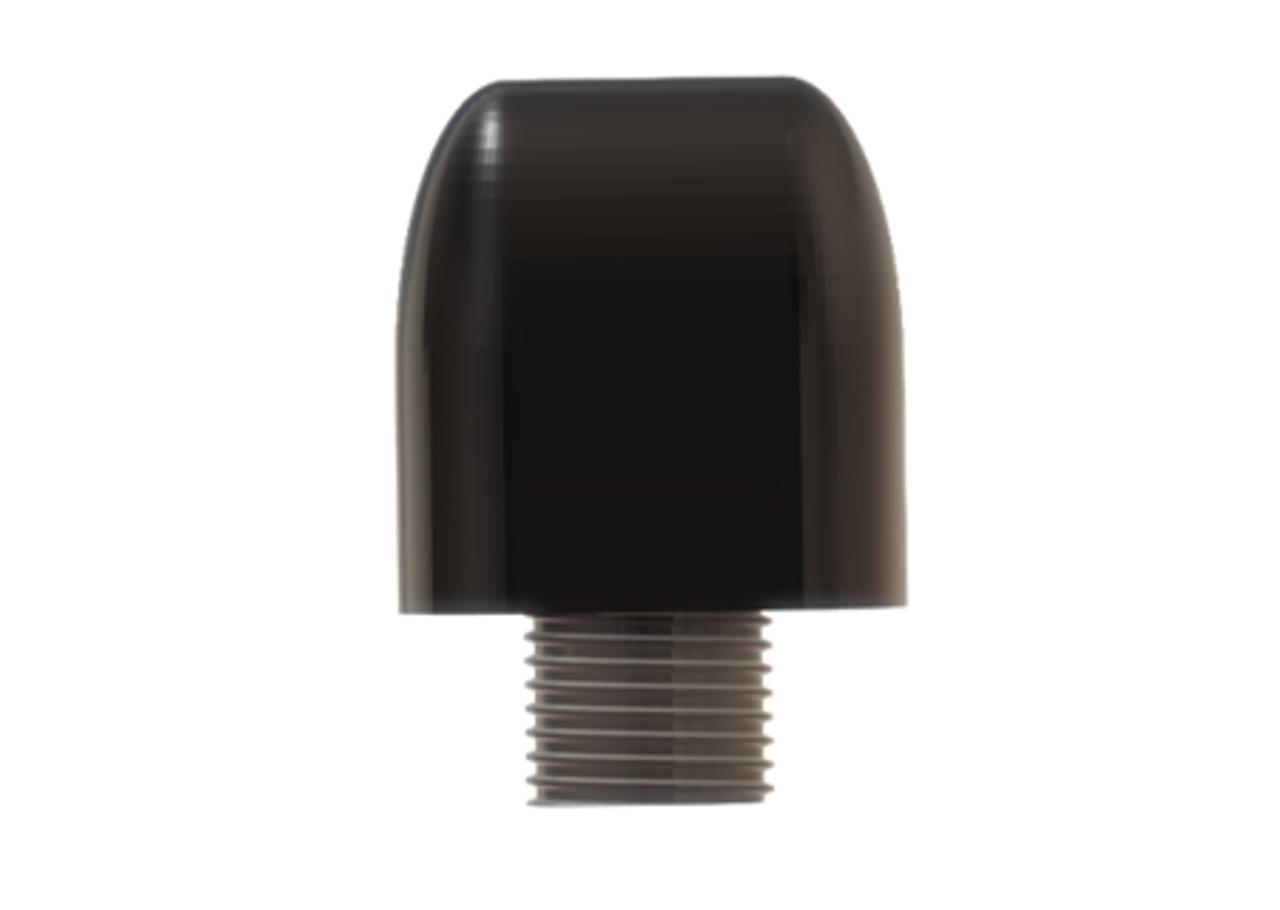 M990 9-Lead Antenna (Black) - End View