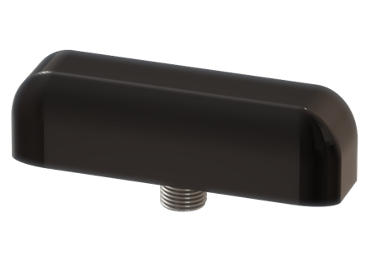 M990 9-Lead Antenna (Black) - Top Side View