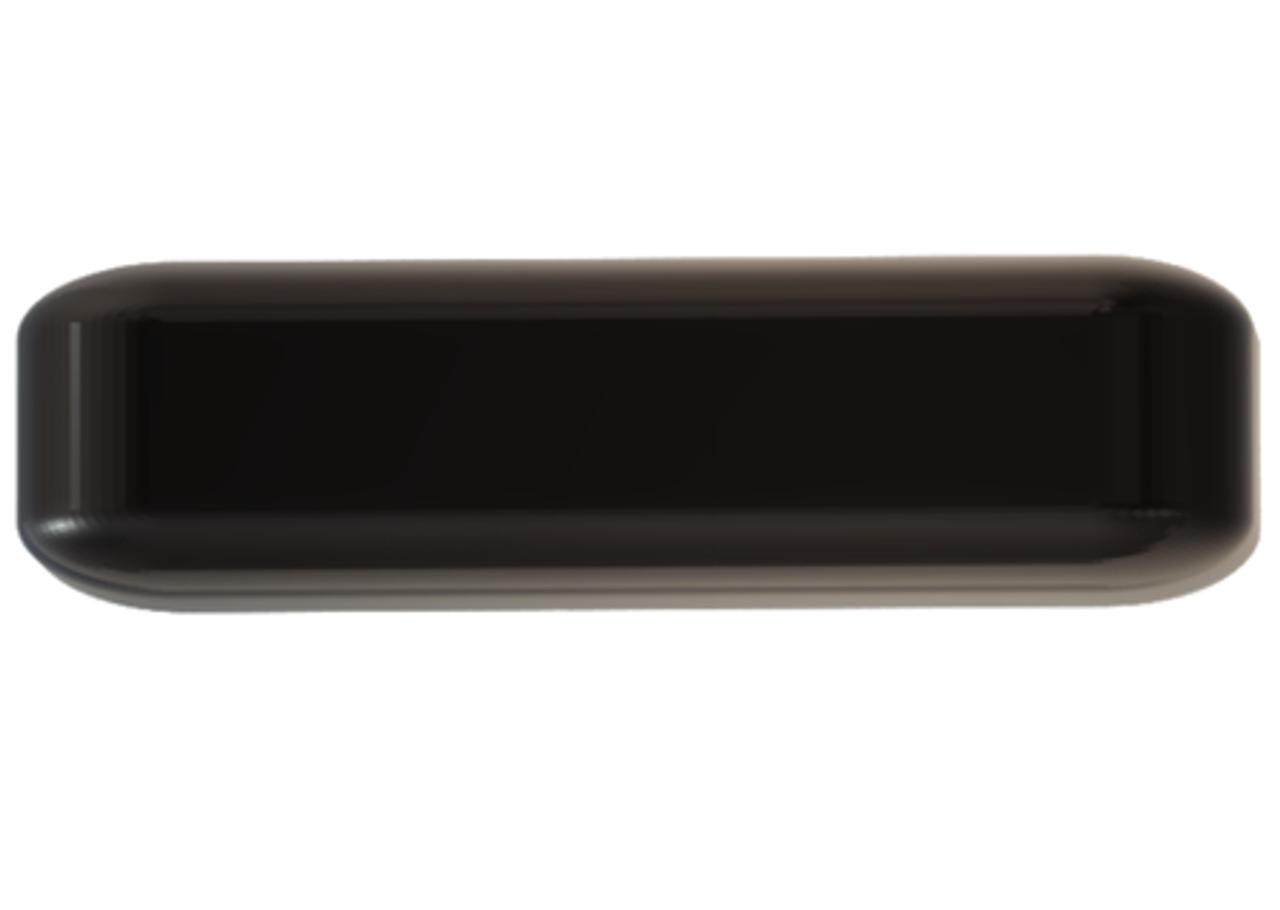 M990 9-Lead Antenna (Black) - Top View