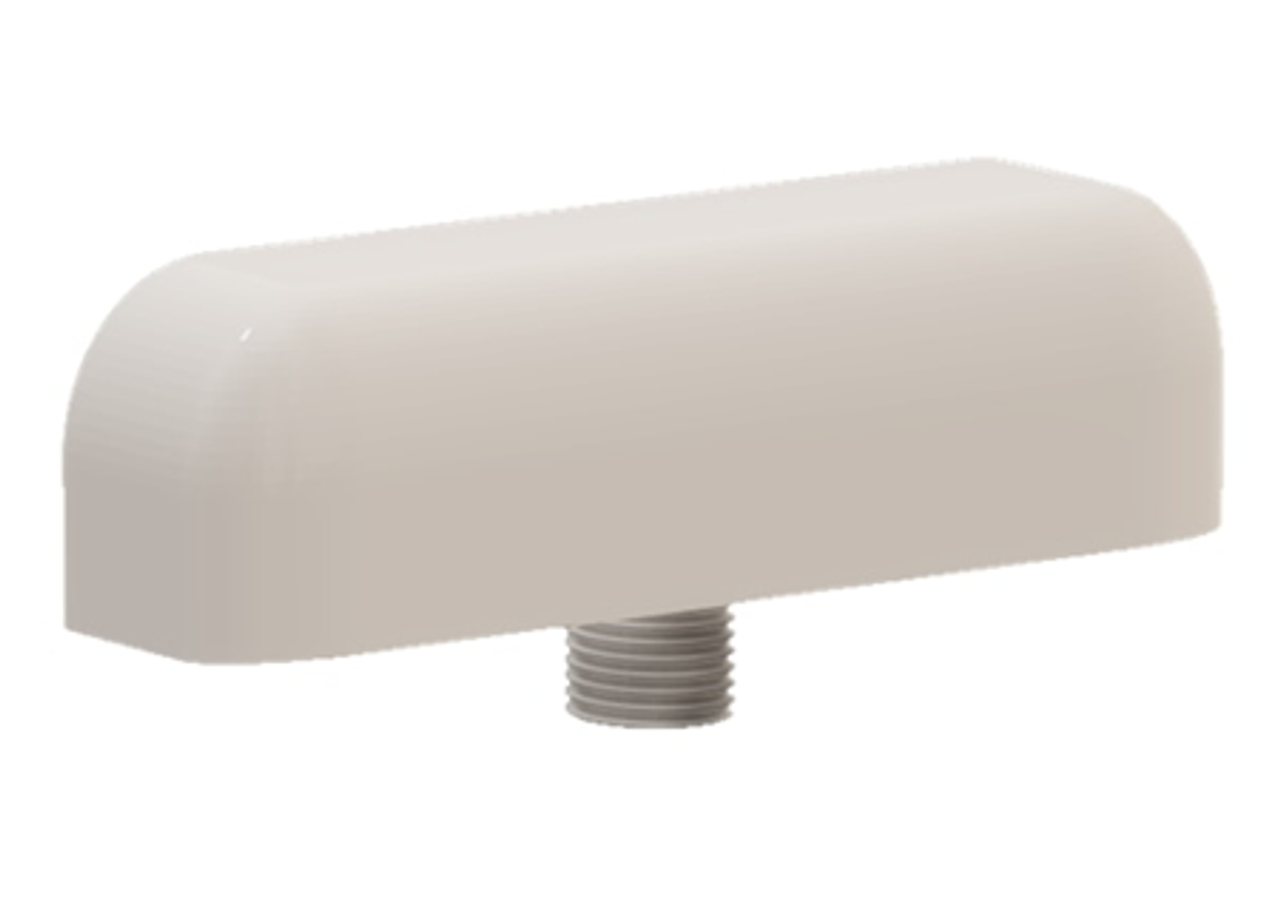 M990 9-Lead Antenna (White) - Side View
