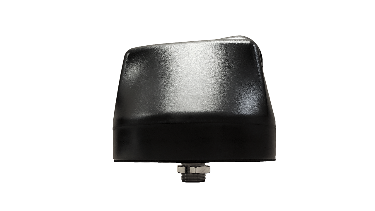M610 10-Lead Antenna (Black) - Side View