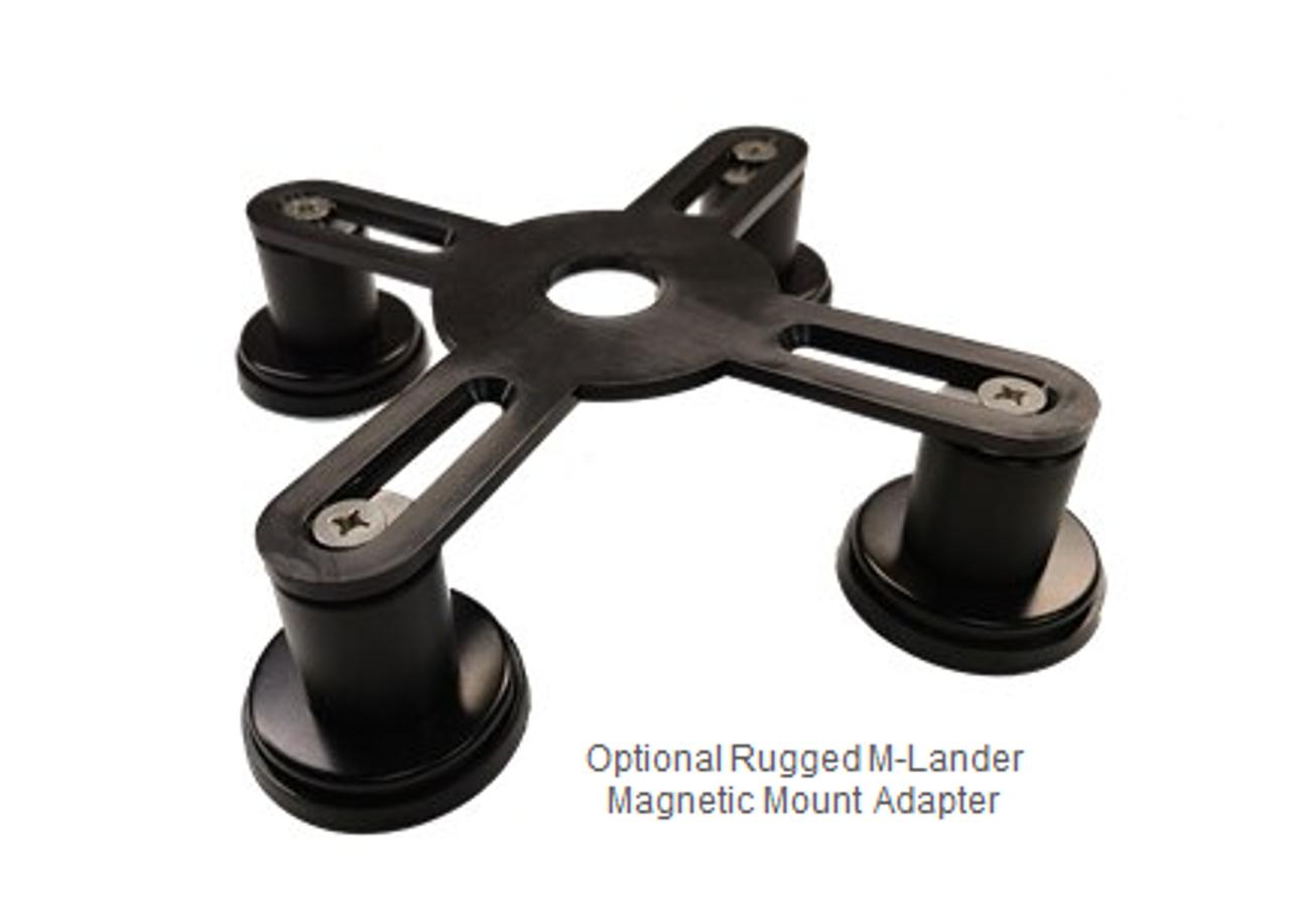 Optional Rugged / Adjustable M-Lander Magnetic Mount Adapter