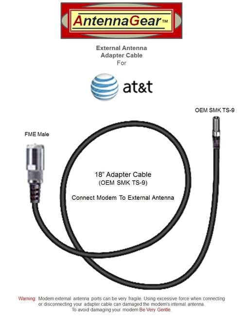 12dB Fiberglass 4G LTE XLTE Antenna Kit For AT&T Unite NETGEAR 770S AC770s w/ Cable Length Options