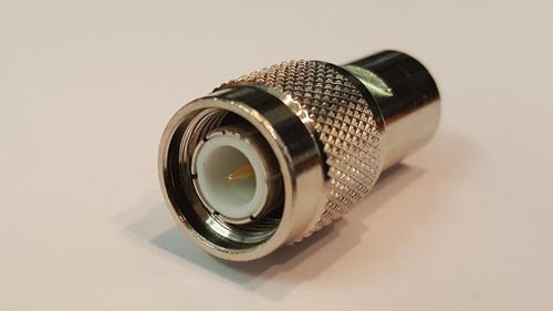 Barrel Adapter FME Male to TNC Male