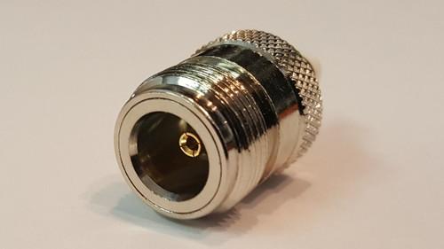 Barrel Adapter N Female to FME Female