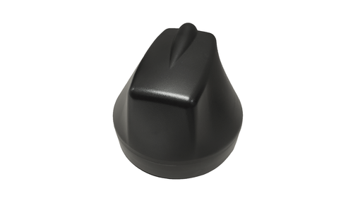 M600 5-Lead Antenna (Black) - Front Top View
