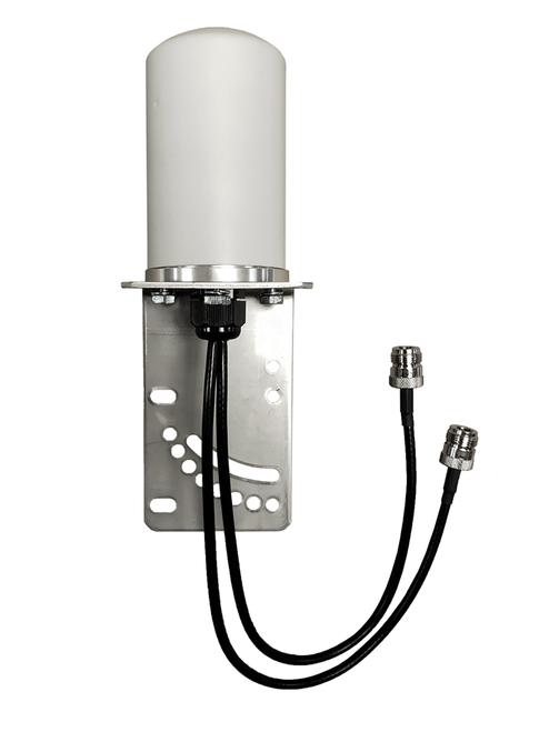 M17B MIMO Omni Directional 2 x Cellular 4G LTE 5G IoT M2M Bracket Mount Antenna