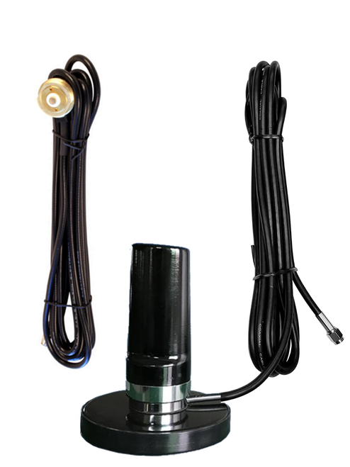 7dBi Cradlepoint W2000 Router LTE M2M IoT Low Profile Antenna w/NMO Mount Standard - w/ Cable Length Options
