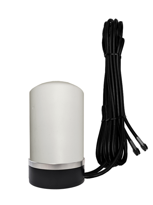 7dBi M17 MIMO Antenna w/ 16ft Cables for Cradlepoint W2000 Router - Antenna Body Detail