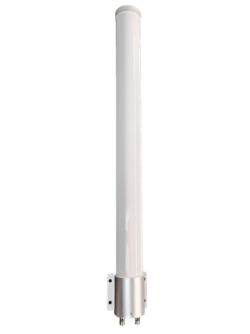 BEC 6500AEL - M39 MIMO Omni Directional Fiberglass Cellular 3G 4G 5G LTE Band 71 External Data M2M IoT Antenna - 2x NF - Main
