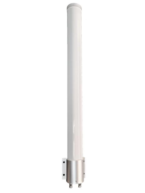 BEC MX-1200 - M39 MIMO Omni Directional Fiberglass Cellular 3G 4G 5G LTE Band 71 External Data M2M IoT Antenna - 2x NF - Main