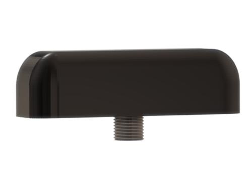 M900 Low-Profile Series Antenna (Black) - Side View