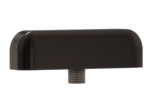 M900 Low-Profile Series Antenna (Black) - Side View