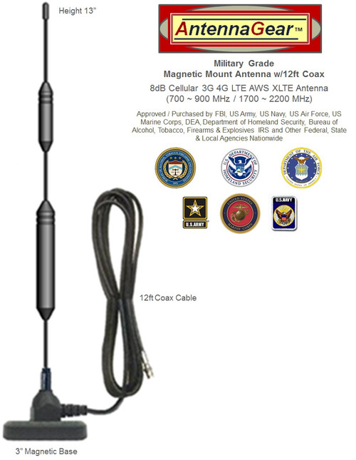 XHD 8dBi NETGEAR LM1200 4G 5G LTE MODEM External Antenna