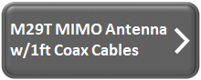 M29T T-Mobile MIMO Antenna w/1ft Coax Cables