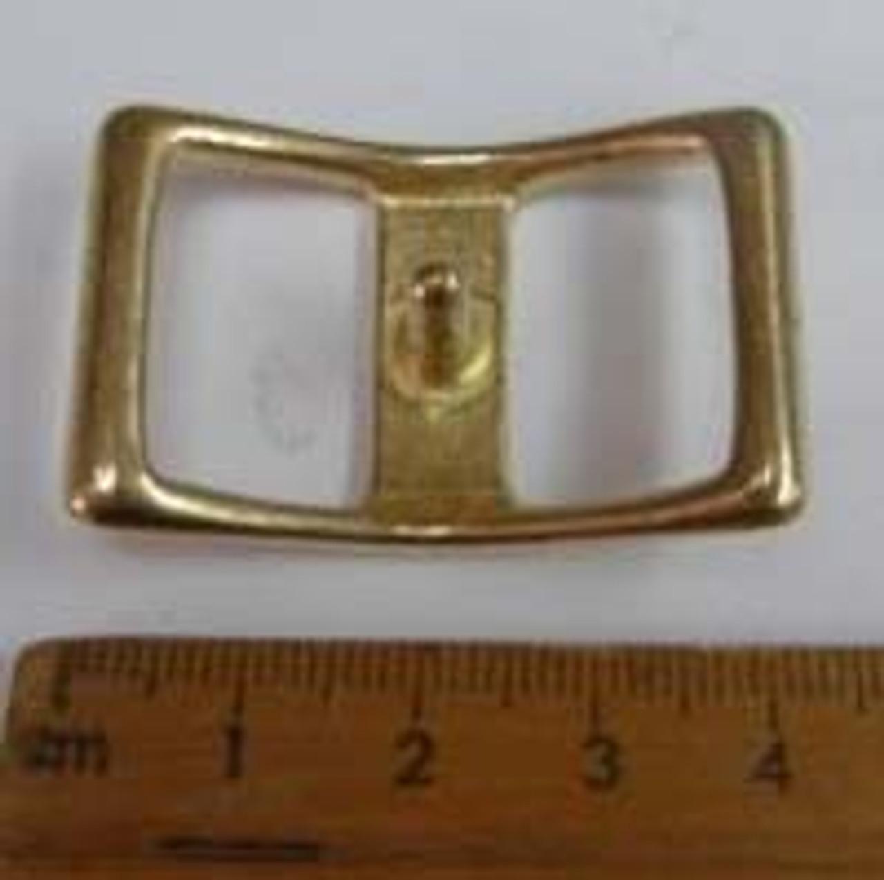 Brass Conway Buckel 3/4