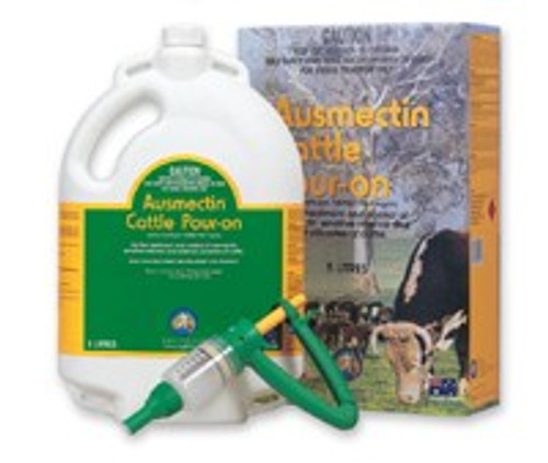 Ausmectin Pour On For Cattle 1L