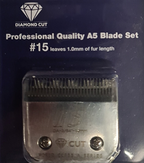 Diamond Cut Size 15 1mm