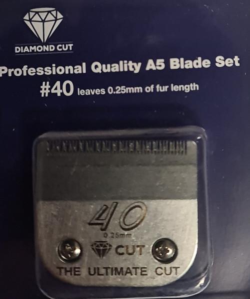 Diamond Cut Size 40 .25mm