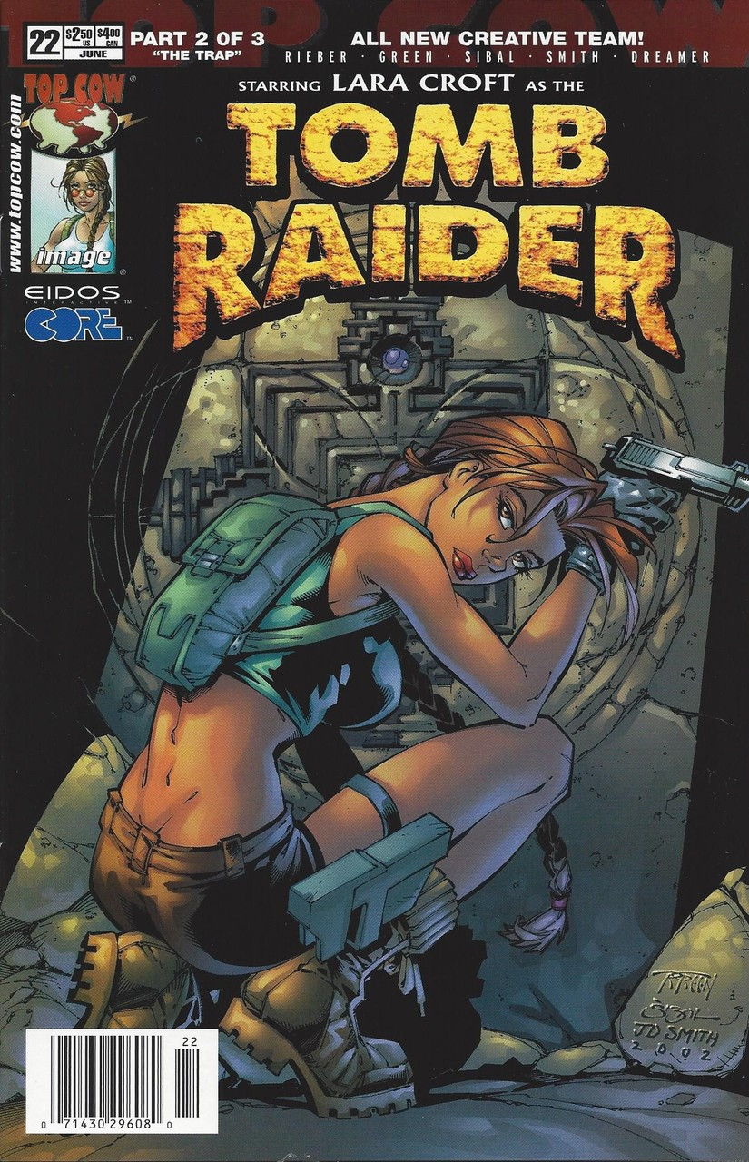 Tomb Raider 22 Black Cat Comics