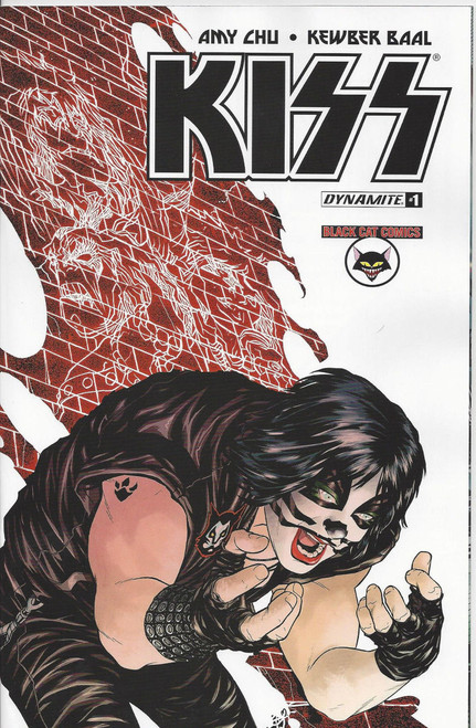 KISS #1 Black Cat Comics exclusive