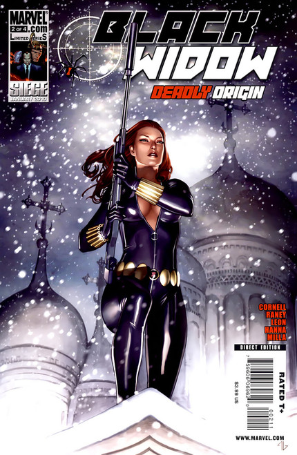 Black Widow Deadly Origin #2