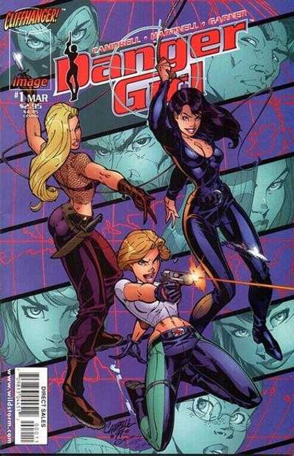 Danger Girl #1 cover A