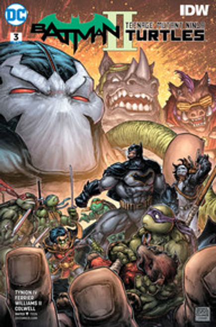 Batman TMNT II  #3 cover A (Fine)